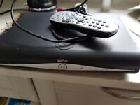 2 Sky+HD boxes, with remotes and cables. Plus Sky white Modem for wifi
