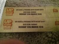 2 tickets Calum Scott cardiff