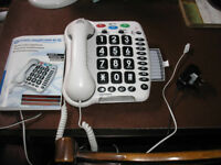 Geemarc Amplipower 50 Big Button Telephone (Very Loud)