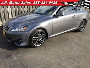 2013 Lexus IS250C F Sport, Automatic, Navigation, Leather, Conve