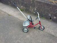 Toddler push along bike