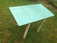 Vintage Formica mid century kitchen table £10