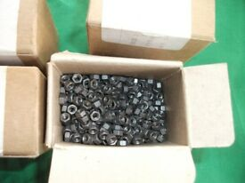 4 x Boxes of 4BA Full BS57 Hexagon Nuts, UNUSED ~ Approx 3500 Nuts in Total ~ ONLY £5 The Lot