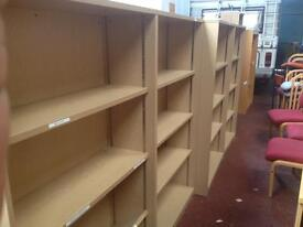 Bookcases - (Beech) Chrome Clips