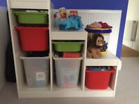 IKEA Children's Storage Units 2x with boxes