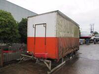 16 ft curtainside body, aluminum roof, good condition suit 7.5 t Daf, Iveco, Man, Renault, Isuzu