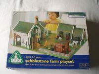 Cobblestone Farm Play Set from ELC *including original box & instructions*