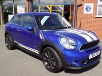 MINI PACEMAN 1.6 COOPER S ALL4 3dr (184) ** Low Miles + Full Mini History ** (blue) 2014