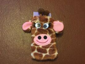 Giraffe phone case/holder