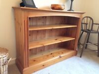 Cotswold collection pine bookcase
