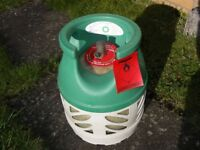 BP GAS LIGHT 5KG Propane gas bottle, about third full, clean condition - around £50 filled.