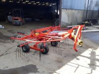 KUHN single rotar rake