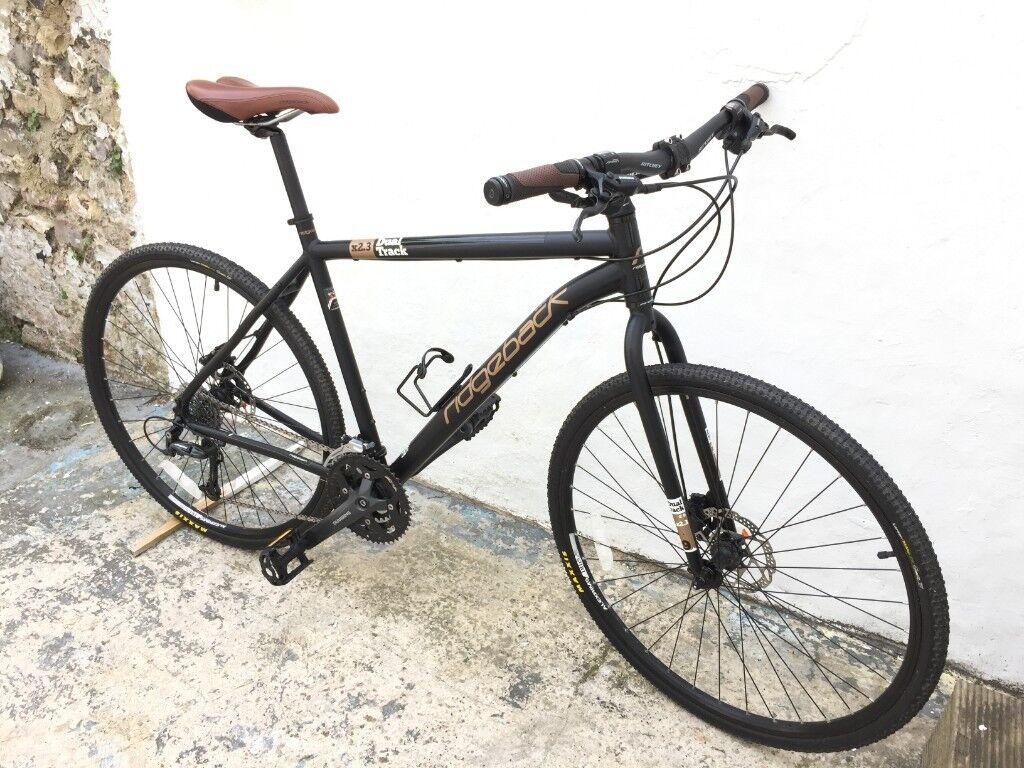 Ridgeback Dual Track X2.3 commuting / hybrid / rigid mountain bike ...