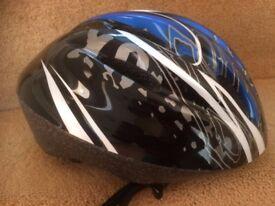 Cycle Helmet By Trax Furnace Medium 54-58cm Unisex Blue Black NWOT