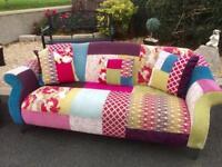 Beautiful Patchwork Sofa