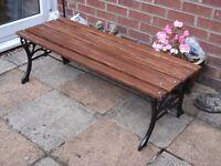 Garden Bench (refurbished)