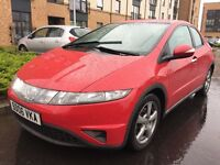 HONDA CIVIC 2.2 DIESEL IMMACULATE CONDITION FULL SERVICE ONE LADY OWNER FROM NEW