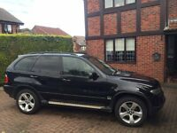 BMW X5 Auto 2006, Diesel, Heated Seats, Pan Roof ,Sat Nav, TV & rear seat entertainment