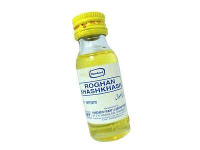 Hamdard Roghan Khashkhash 25 ml | Unani Remedy for Insomnia