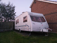2003 5 berth Lunar Astara525,with Truma motor mover,Camptech Savannah awning and Tall deluxe bedroom