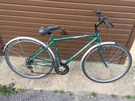 Raleigh Pioneer Gents Hybrid. Very good condition. Fully serviced, Free Lock, Lights, Delivery