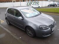 Volkswagen Golf gt tdi 140,5 Door Hatchback,2 keys,FSH,stunning car,full heated leather interior,