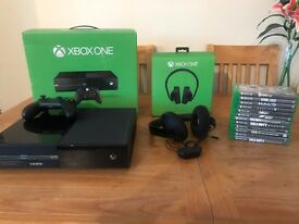 Xbox One 500 GB + 12 Games and More