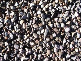 washed 20mm gravel / chips / drainage