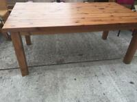 Large Solid Ikea dining table