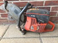 Husquavarna stihl petrol saw k760 stone saw for cutting flags