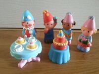 HAPPYLAND: Birthday Party Figures & Cake