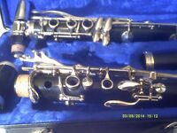 """BUFFET B 12 CLARINET RARELY BEEN PLAYED , """" so """" LIKE NEW , in an EXCELLENT CASE"""
