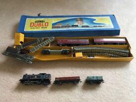 Hornby Dublo 0-6-2 Tank Passenger Train and Track