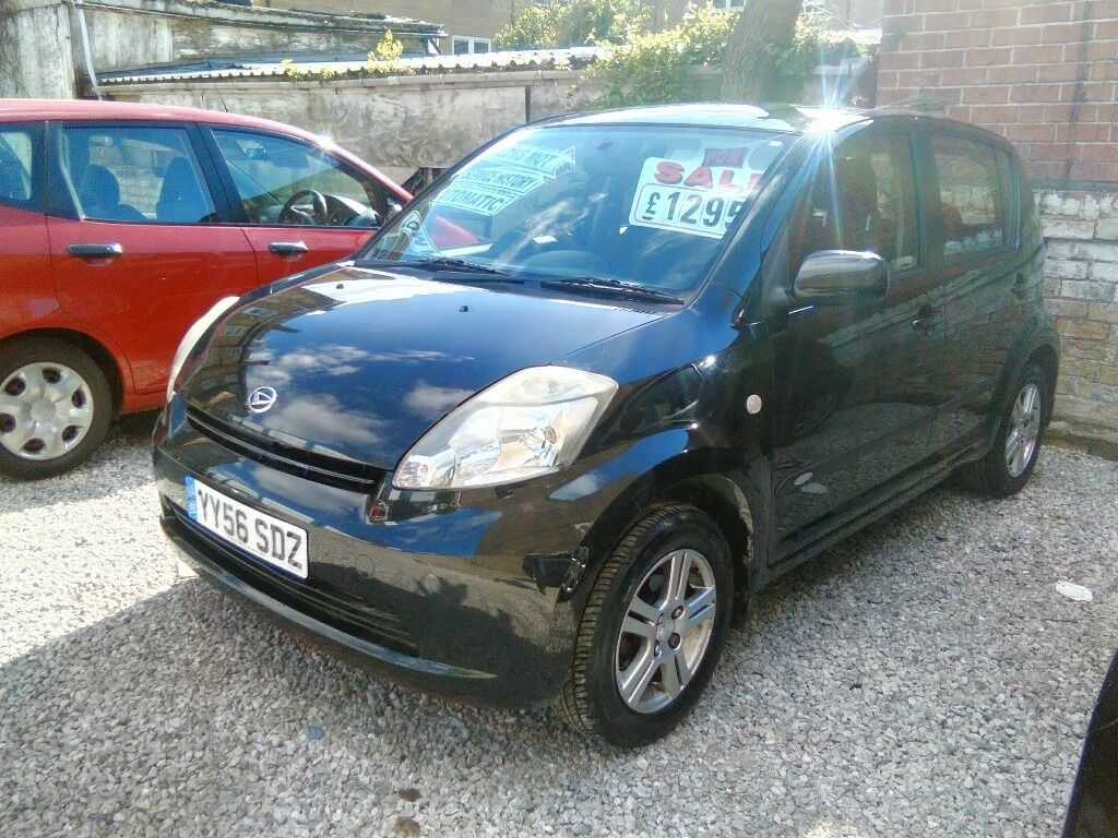 2006 daihatsu sirion se automatic 5 door hatchback 1.3 petrol only 85.000  miles 2 owners from