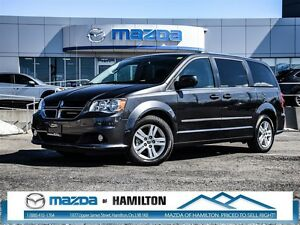 2016 Dodge Grand Caravan Crew- BLUETOOTH, A/C, AUTOMATIC!