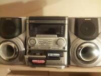 Aiwa hifi stereo system