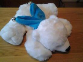 Pola bear cuddly toy