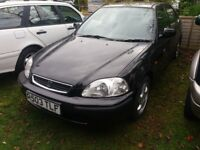 Honda Civic 1.6 Vti Black