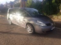 RENAULT ESPACE 2005 MOTED BARGIN 7SEATER FAMILY CAR.