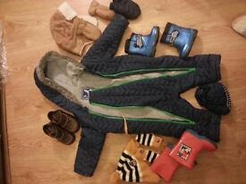Winter boys 12-18 months bundle