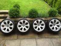 "4 genuine BMW 19"" alloys wheels from a 6 series"