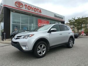 2015 Toyota RAV4 AWD - ONE OWNER - ACCIDENT FREE