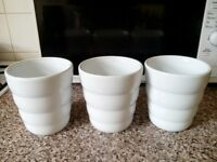 White Ceramic Vases