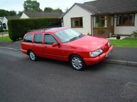 Very Rare,Sierra 4x4Ghia Estate 2.0ltr Engine,in immaculate condition inside and out. One owner.