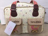 Brand new Pink Lining changing bag.