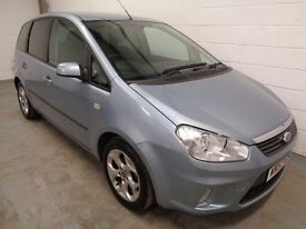 FORD C-MAX MPV , 2007/57 REG , LOW MILES + HISTORY , YEARS MOT , FINANCE AVAILABLE , WARRANTY