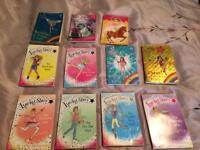 Lucky star and Rainbow magic books