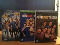 Series 1-8 of The Big Band Theory