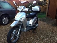 Piaggio Liberty 125 - only 6500 miles. Selling for relocation.