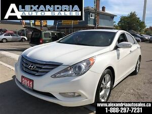 2011 Hyundai Sonata Limited navigation top of the line